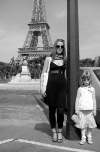 Me and my Parisian cousin, Alyssa.